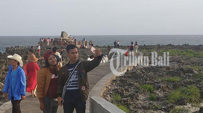 Water Blow Nusa Dua Masih Jadi Primadona Wisatawan Tribun Bali