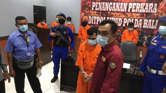 Polda Bali Ungkap Tindak Pidana Narkotika di Depo Pembuangan Sampah Sementara di Serangan Bali