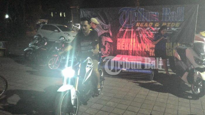 Pengin Motor Xabre, Peserta Ajang Read and Ride Tribun Bali Ini Kejar NMax