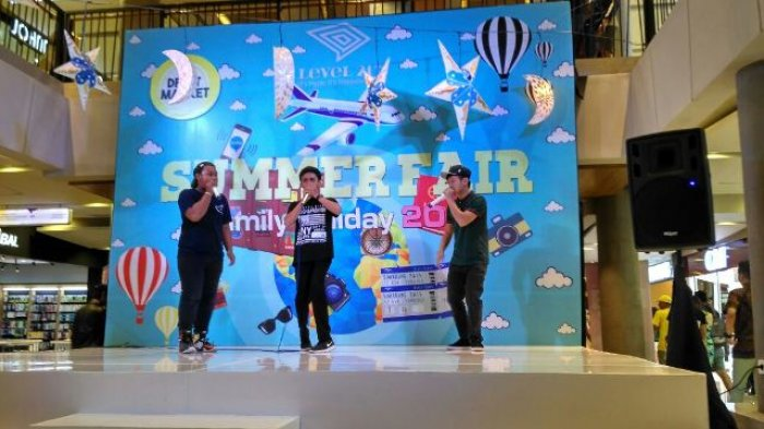 The Beatness Hibur Pengunjung Mall Level 21 Denpasar