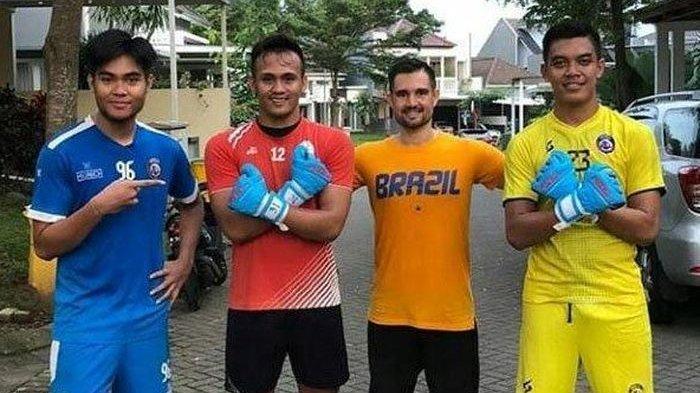 3 Kiper Arema FC Sudah Mulai Latihan Bersama di Malang, Beri Semangat Setelah Jalani Latihan Mandiri