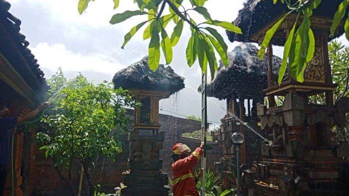 3 Pelinggih Pura di Daerah Tonja Terbakar, Kerugian Capai Rp 200 Juta