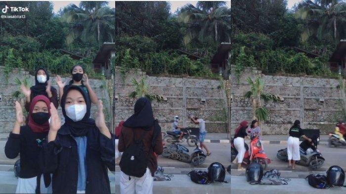 Video Viral Asik Bikin Konten TikTok, Motor Remaja Ditabrak di Labuan Bajo