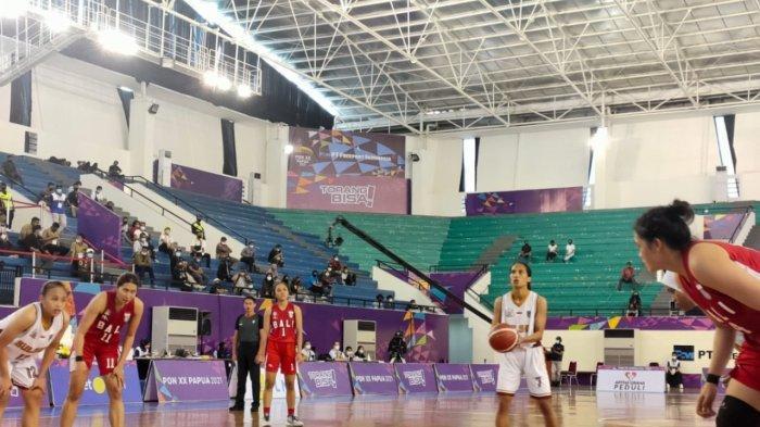Basket Putri Bali Tembus Final PON XX Papua, Rata-rata Pemain Berlatih Sejak Usia 12 Tahun
