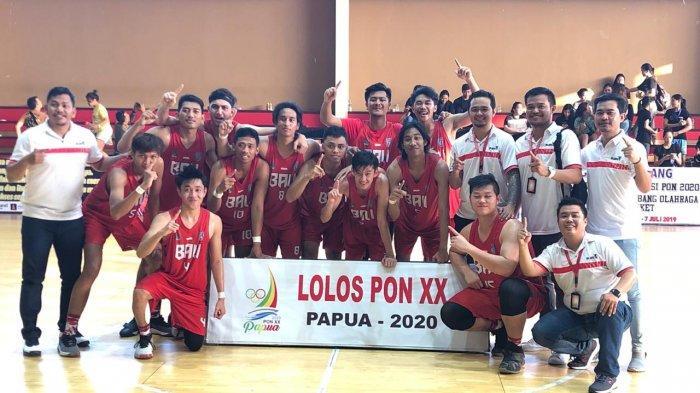 Sejarah, Tim Basket Putra dan Putri Bali Lolos ke PON Bersamaan