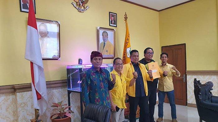 Gus Sombi Tunjuk Adik Geredeg Jadi Sekretaris Golkar Karangasem, Sukerana Didapuk Jadi Wantimbang