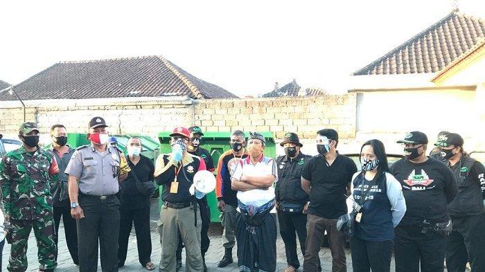 Pastikan Penerapan Protokol Kesehatan, GTPP Covid-19 Cek Pasar Desa Adat Padang Sambian Denpasar