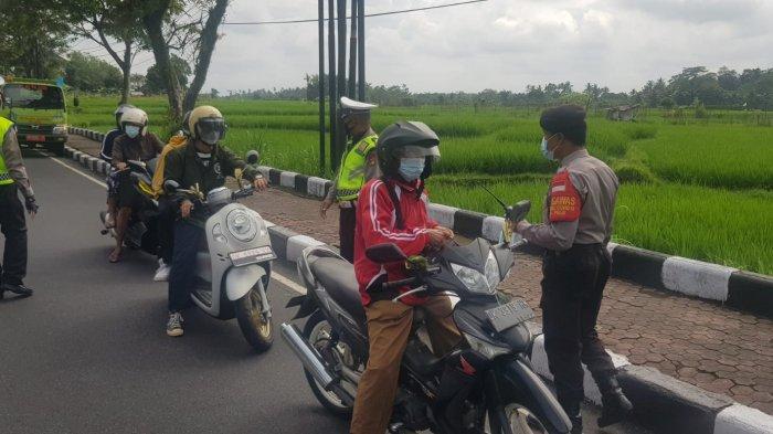 Meski Bali PPKM Level 3, Polres Badung Tetap Perketat Pos Pengetatan