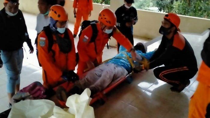 Seorang Pendaki Berhasil Dievakuasi Tim Gabungan Lantaran Mengalami Kelelahan Saat Mendaki