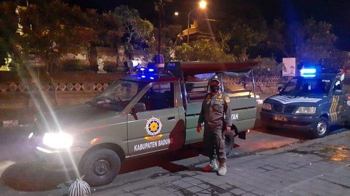 Patroli Gabungan di Badung, Ingatkan Masyarakat Terkait PPKM Darurat