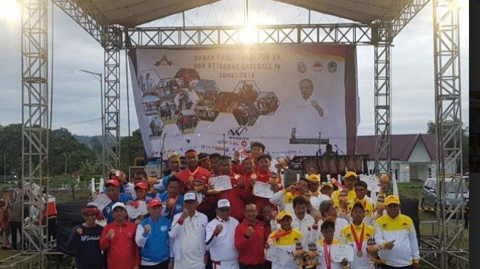 Tim Gateball Bali Peroleh 4 Medali Emas di Babak Kualifikasi PON XX dan Kejurnas Gateball Tahun 2019