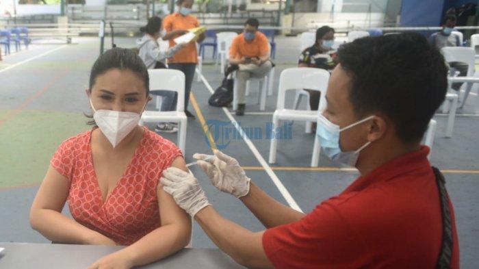 Pemkot Denpasar Sudah Lakukan Vaksinasi Covid-19 ke Masyarakat Sebanyak 128 Ribu Orang