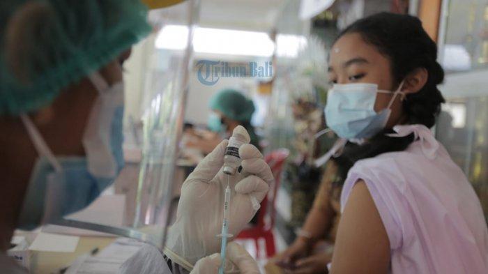 Vaksinasi Untuk Anak Di Karangasem Terus Digenjot, Hingga Kini Hampir Capai 10 Ribu Anak Tervaksin