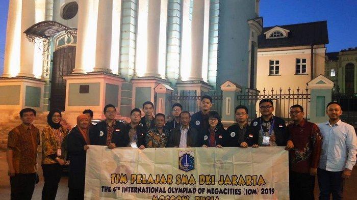 Tim Pelajar DKI Jakarta Raih Juara Kedua pada Olimpiade Metropolis Moskow