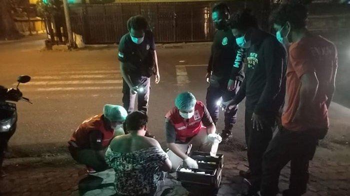 Akibat Pengaruh Mikol, Seorang Pria Alami Laka Lantas di Jalan Imam Bonjol Denpasar
