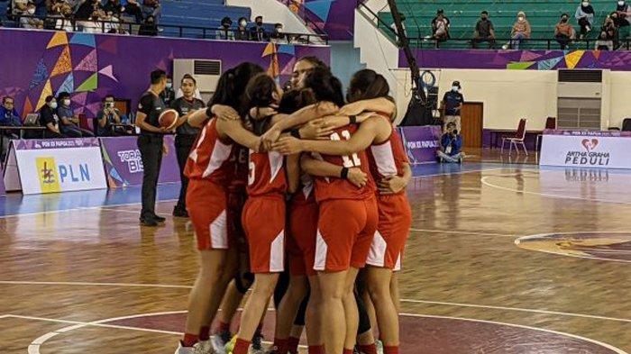 Update PON, Tim Basket Putri Bali Cetak Sejarah Melaju ke Final Setelah Tekuk Sulsel