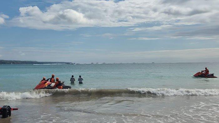BREAKING NEWS: Pemuda Asal Surabaya Hilang Terseret Arus di Pantai Dreamland Badung