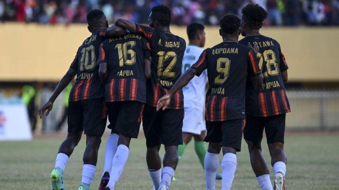 Tim Sepak bola Putra Papua Lolos ke Final Setelah Terkam Kalimantan Timur 5-1