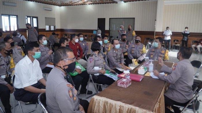 Tim Wasops Itwasum Polri Sambangi Polresta Denpasar, Ops Ketupat Agung 2021 Jadi Pembahasan