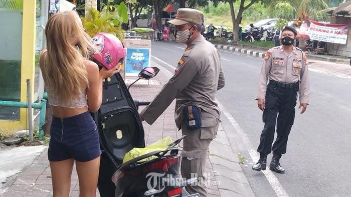 Tak Semua Pelanggar Prokes di Badung Dikenakan Sanksi Denda, Begini Alasan Satpol PP Badung