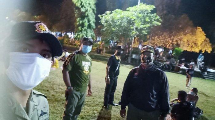 Tim Yustisi Kembali Gelar Pemantauan Prokes di Denpasar, Ingatkan Masyarakat Taat Prokes