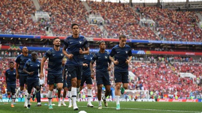 Starting XI Perancis Kontra Denmark, Paul Pogba dan Mbappe Disimpan di Bangku Cadangan