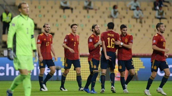 Euro 2020 - Susunan Pemain Timnas Spanyol, Sergio Ramos dan Gerard Pique Absen