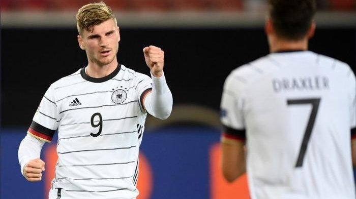 Hasil Lengkap Kualifikasi Piala Dunia 2022: Jerman Tampil Perkasa, Timo Werner Sumbang Dua Gol