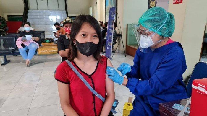 Lanud I Gusti Ngurah Rai Ikut Sukseskan Program Serbuan Vaksinasi Covid-19 TNI AU