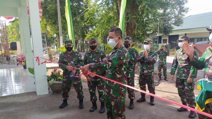 Pra TMMD ke-112, TNI AD Bersama Warga Bersinergi Bangun Senderan di Bangli
