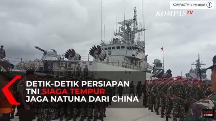 Kapal China Bermanuver Saat Diadang KRI di Natuna, Jenderal TNI Langsung Perintahkan Ini ke Prajurit