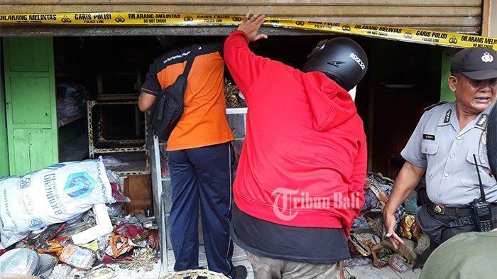 Kebakaran di Pasar Kumbasari Hanguskan Toko Alat-Alat Banten, Segini Taksiran Kerugian
