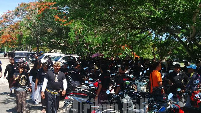 BREAKING NEWS: Ratusan Anggota Baladika Bali Turun Jalan Tolak Reklamasi Teluk Benoa