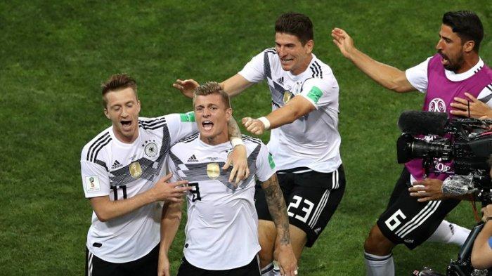 Jerman 2-1 Swedia, Begini Komentar Emosional Toni Kroos Usai Cetak Gol Kemenangan Jerman