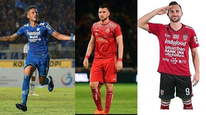 Kandidat Top Skor Bernomor 9 di Liga 1 Indonesia 2021, Ada Wakil Bali United, Persib, & Persija