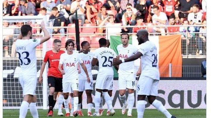 HASIL Rennes Vs Tottenham: Harry Kane Tak Cetak Gol, Spurs Ditahan Imbang, Bergwijn dan Moura Cedera
