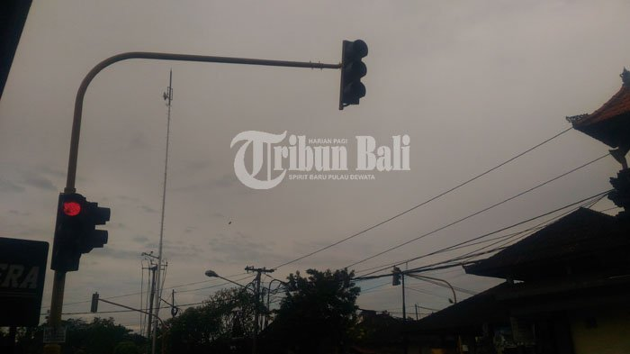 Sering Kecelakaan, Traffic Light Padam di Pertigaan Celuk Gianyar