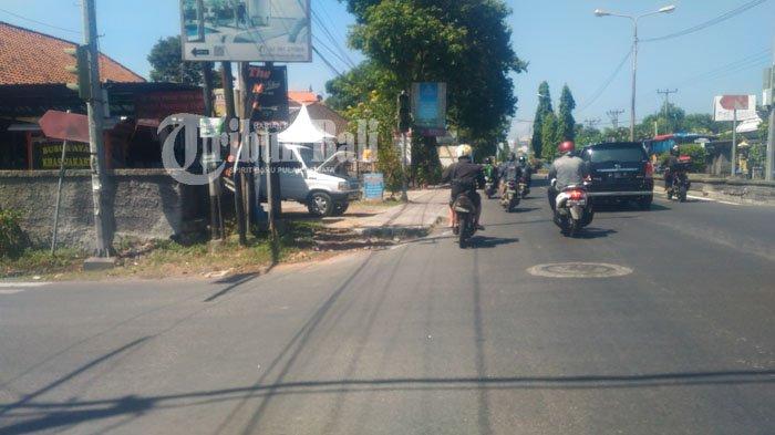 Tolong Segera Diperbaiki Traffic Light yang Padam di Sanur