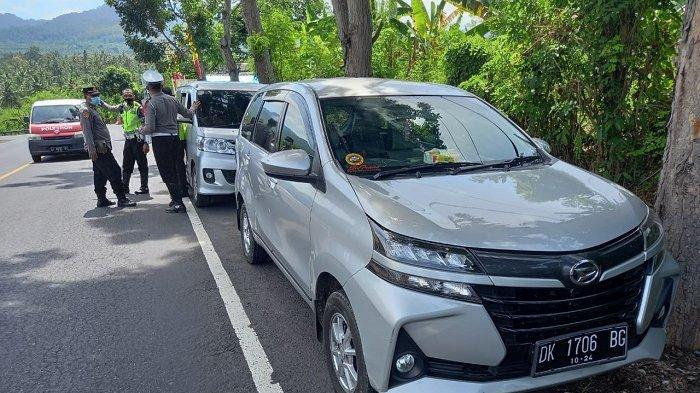 Hari Pertama Masa Penyekatan Mudik Lebaran 2021, Dirlantas Polda Bali Amankan 4 Unit Travel Gelap
