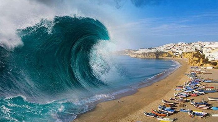Gempa & Tsunami 20 Meter yang Dibangkitkan Zona Megathrust Ancam Pantai Selatan Jawa, Ini Kata BPBD