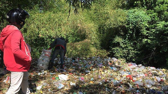 TPS Liar di Desa Kekeran Badung yang Sebelumnya Ditutup Karena Terdapat Sampah Medis Kembali Penuh