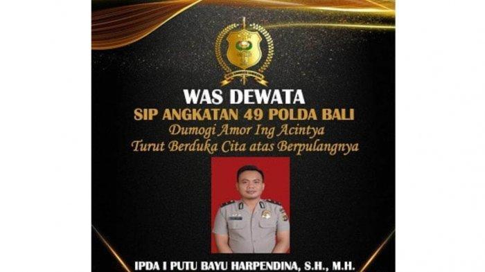 UPDATE Perwira Polisi Polresta Denpasar Tewas Tersengat Listrik, Ipda Bayu Dikenal Suka Bergaul