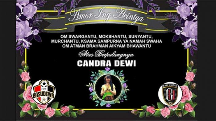 Candra Dewi Meninggal Usai Kecelakaan di Bypass Ngurah Rai Denpasar, Suporter Basudewa Bali Berduka