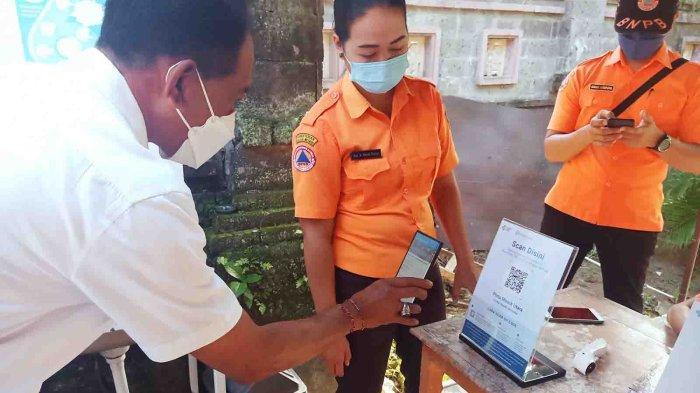 Aplikasi PeduliLindungi Diujicobakan di Pemkab Jembrana