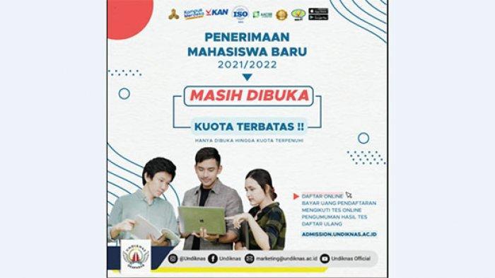 Undiknas University Masih Buka Pendaftaran Mahasiswa Baru, Kunjungi admission.undiknas.ac.id