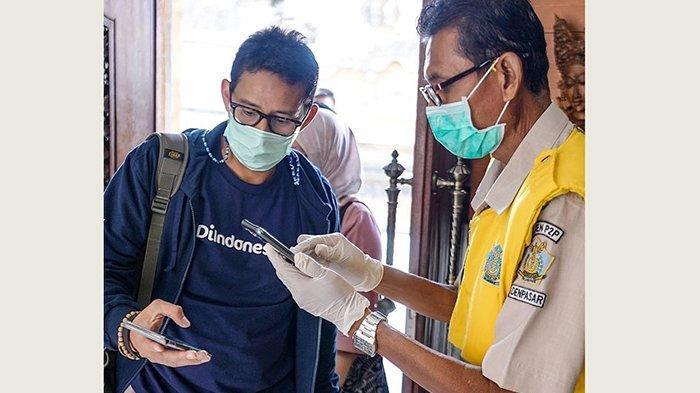 Menparekraf Kembali Berkantor di Bali, Rencanakan Adanya Fasilitas Drive Thru Vaksin