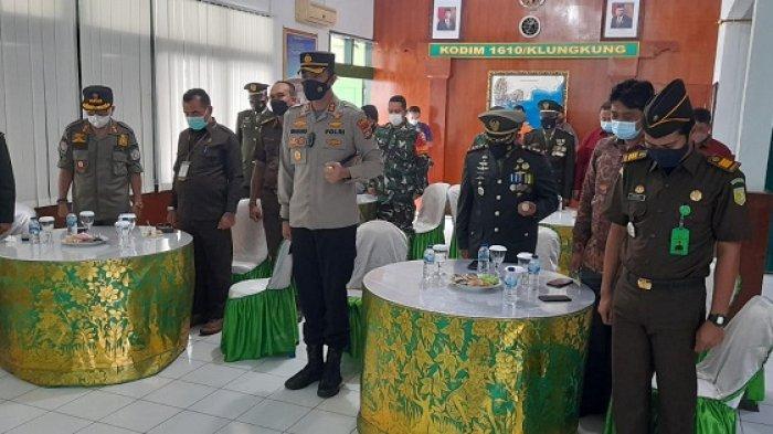 Perayaan HUT TNI ke-76, Dandim Klungkung Ingatkan Personel Selalu Tingkatkan Kemampuan