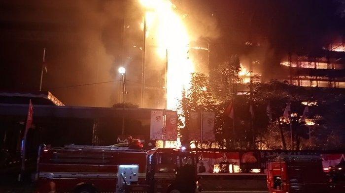 Termasuk Tukang Bangunan yang Merokok, Polisi Tetapkan 8 Tersangka Kebakaran Gedung Kejagung