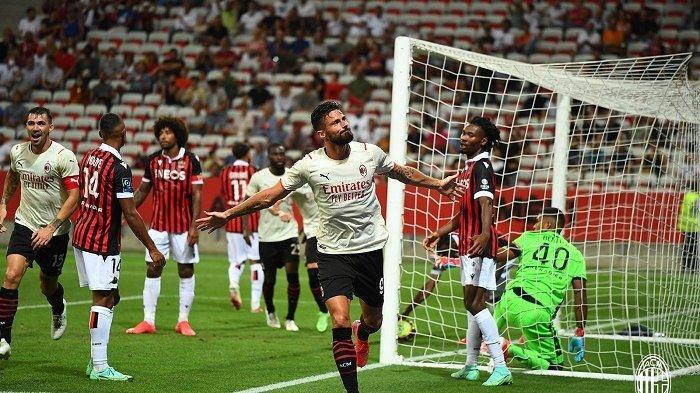 Update Hasil Laga Pramusim Semalam, Striker AC Milan Giroud Cetak Gol, Juventus dan Barca Menang
