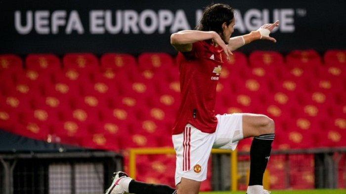 Update Hasil Liga Eropa: Cavani Ciamik, Manchester United ke Semifinal Ditantang AS Roma